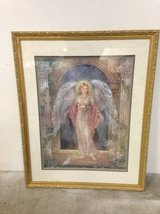 """""""Guardian Angel"""" by Lena Liu - Signed Print and Framed in Tomball, Texas"""