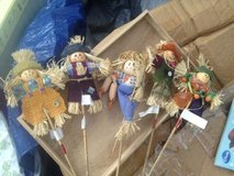 crafting scarecrows in Eglin AFB, Florida