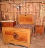 Antique Bed in Ramstein, Germany